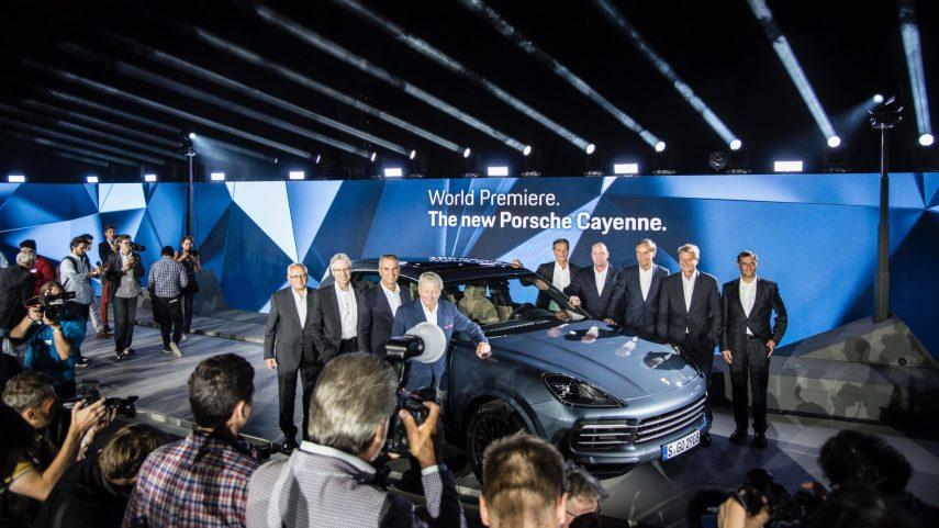 14 Porsche Cayenne tercera generacion 2017