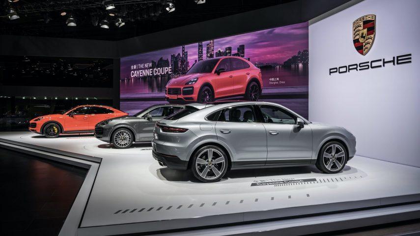 16 Porsche Cayenne Coupe Salon Shanghai 2019