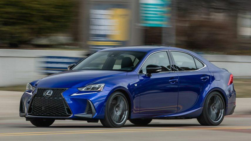 17 Lexus IS 300 F Sport XE30