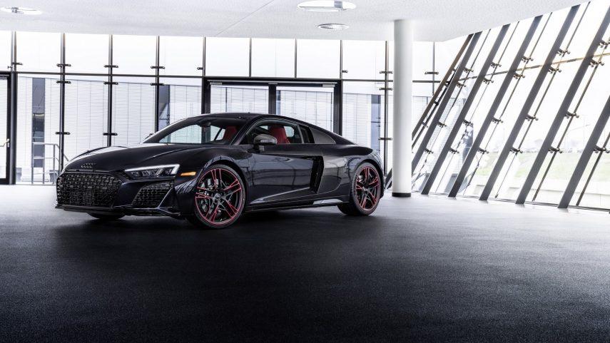 2021 Audi R8 RWD Panther Edition, perfecto si te encanta el negro con algo de rojo