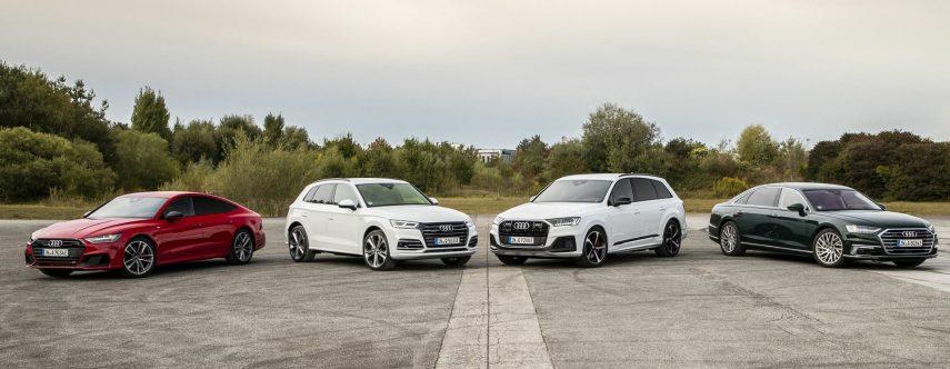 21 Audi A7 Sportback Q5 Q7 y A8