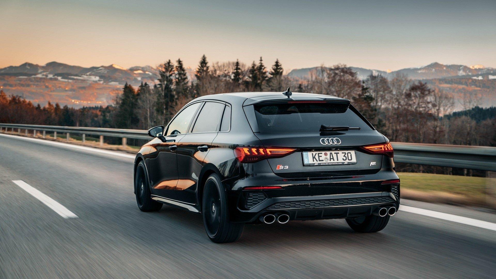 ABT acerca al Audi S3 Sportback 2021 a su hermano mayor ...