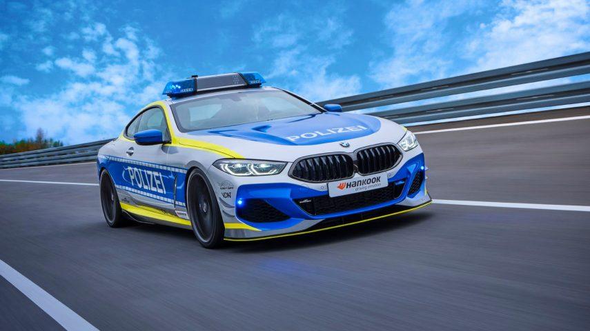 AC Schnitzer viste al BMW M850i de coche de policía