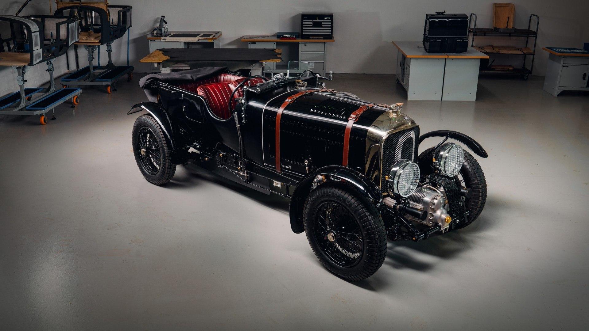 Bentley Blower Continuation Series, este el primer ejemplar nuevo en 90 años