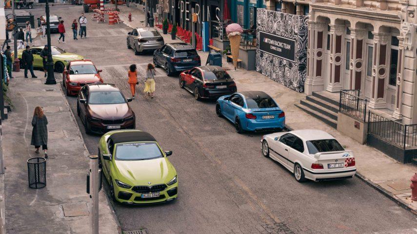 """BMW M Town, el lugar donde """"excesivo"""" significa """"normal"""""""