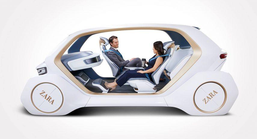 Coche autonomo ZARA Car