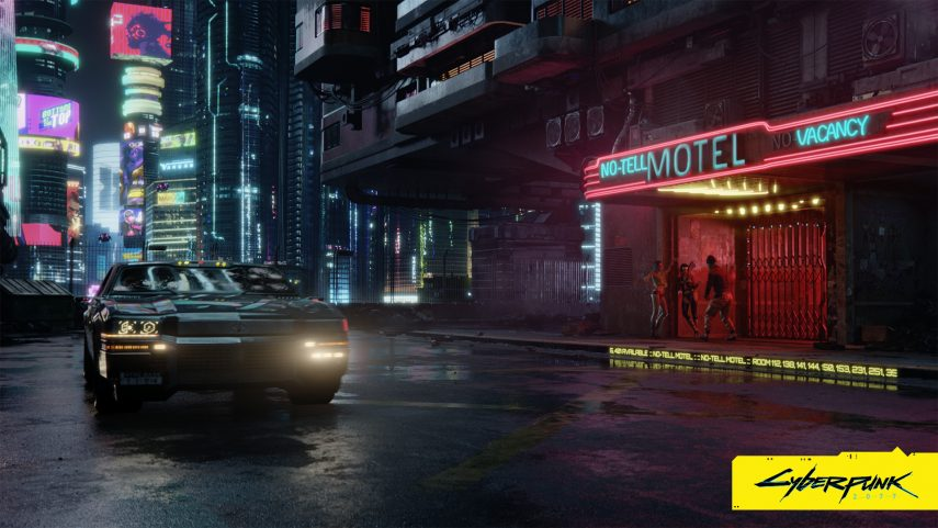 Los coches de Cyberpunk 2077