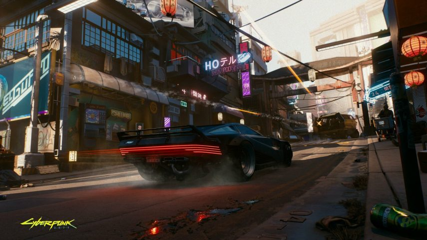 coches de Cyberpunk 2077 7