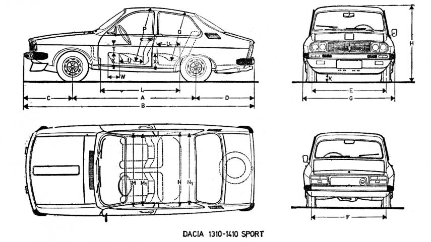 Dacia 1310 1410 Sport 3