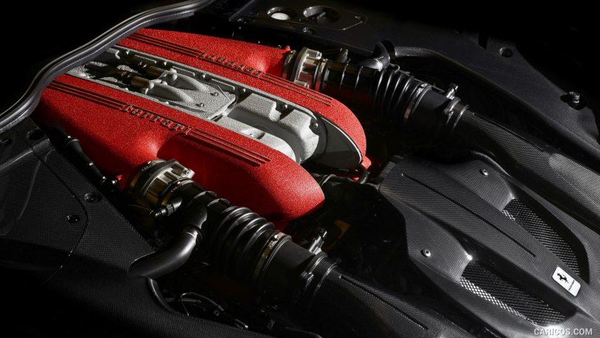 Ferrari F12 TDF Motor V12