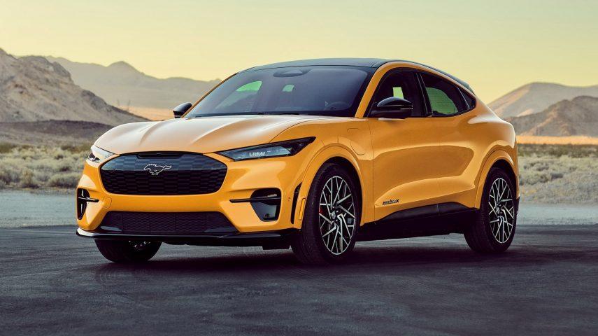 El Ford Mustang Mach E GT Performance Edition se convierte en el tope de gama