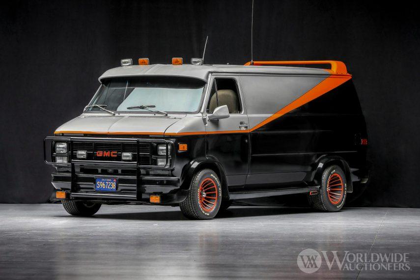 Si te gustaba el Equipo A, ahora puedes sentirte como uno de ellos conduciendo su furgoneta