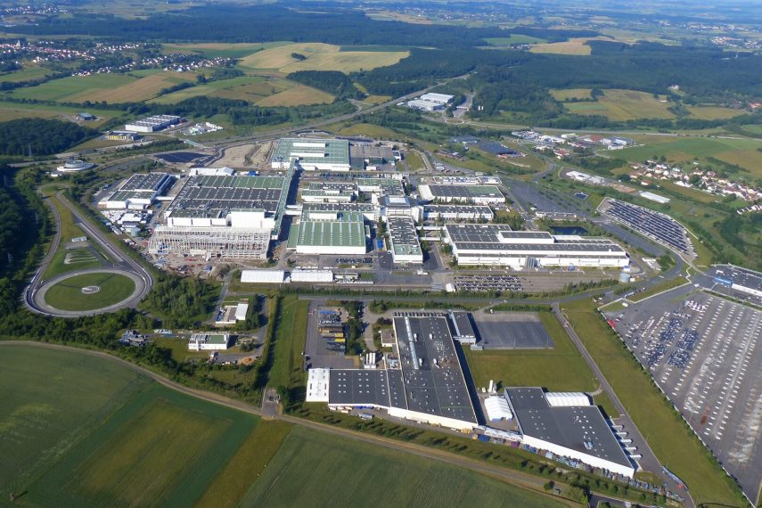 INEOS Automotive SAS Hambach vista aerea