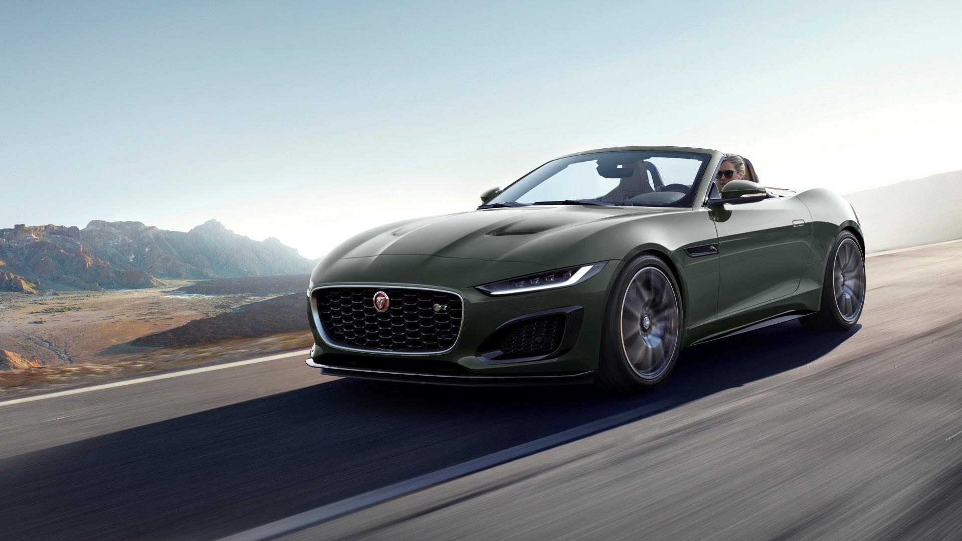 El Jaguar F-Type Heritage 60 Edition apela a la nostalgia británica