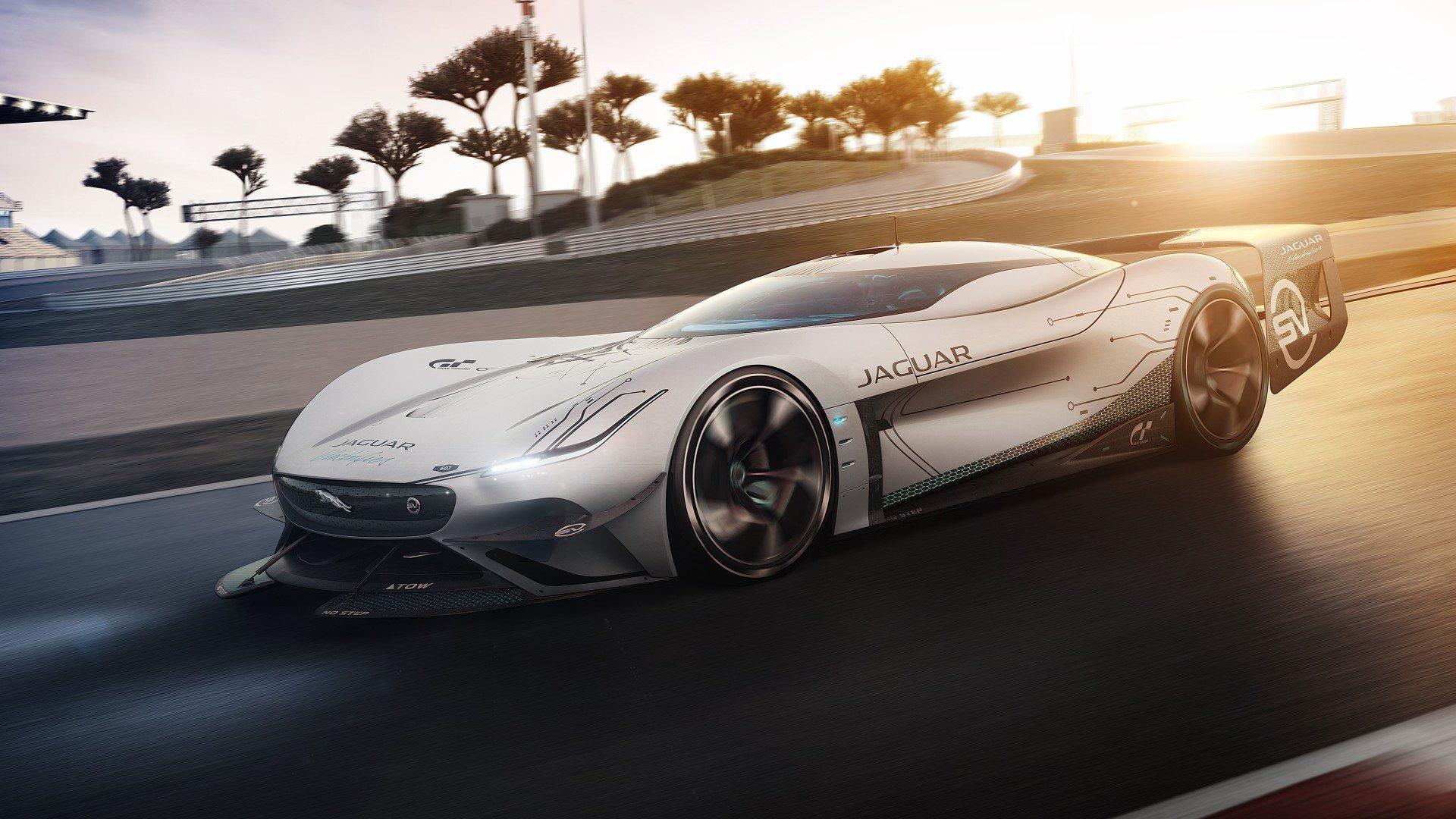 Jaguar Vision Gran Turismo SV, un electrizante coche de carreras del futuro