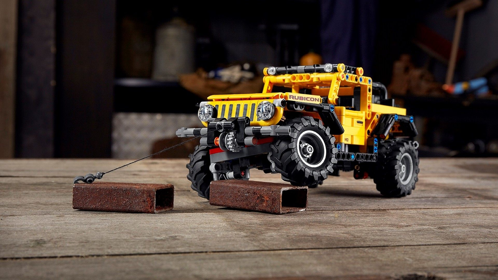 LEGO por fin lanza al mercado el Jeep Wrangler