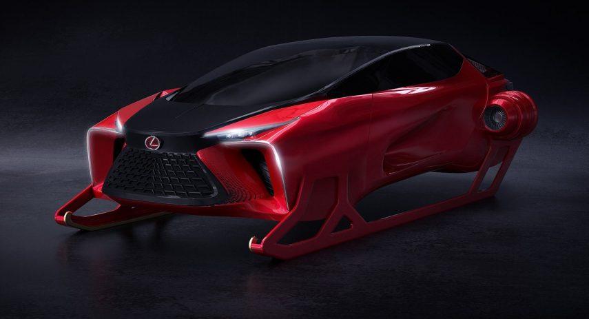 Lexus HX Sleigh Concept Trineo Papa Noel 2