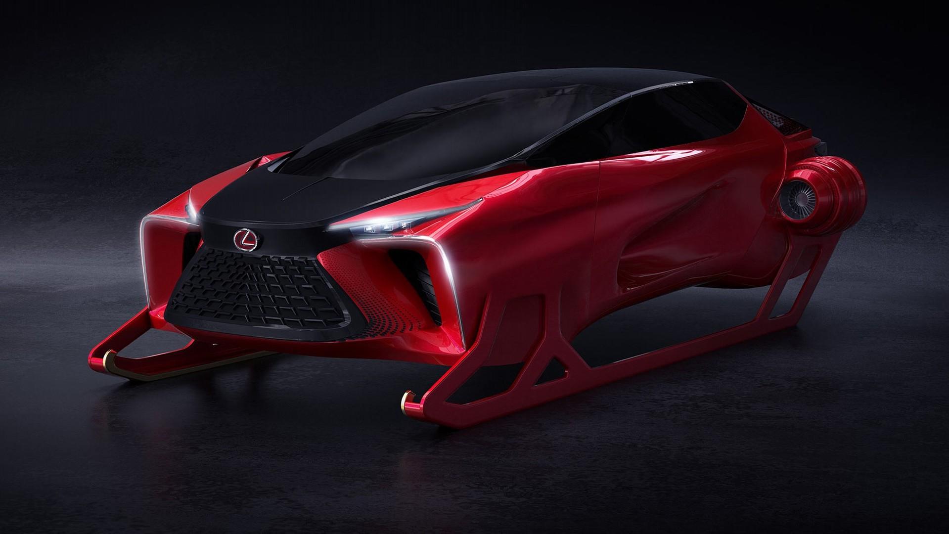 Lexus HX Sleigh Concept, el trineo de Papá Noel para esta Navidad