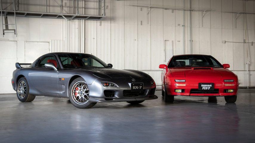 Los Mazda RX-7 de segunda (FC) y tercera (FD) generación reciben una nueva vida