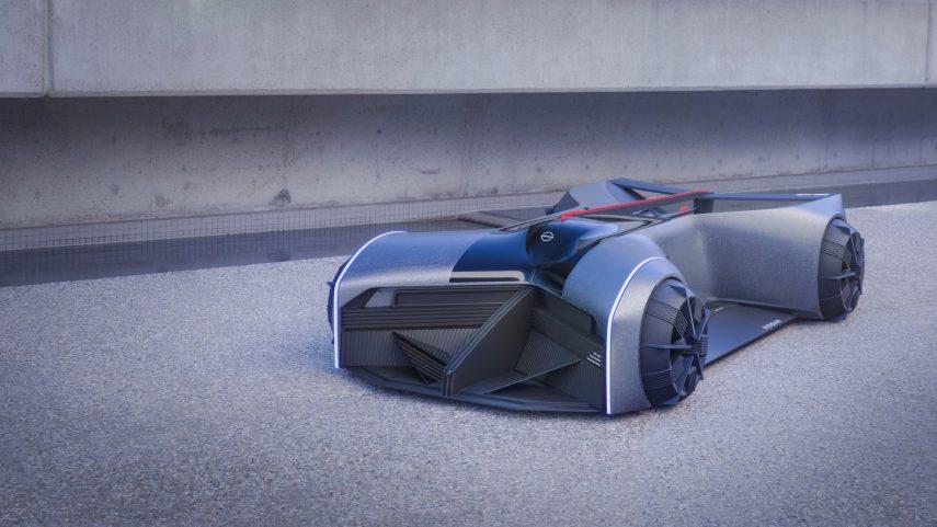 """El Nissan GT-R (X) 2050 representa al deportivo del futuro: """"portátil"""" y """"autónomo"""""""