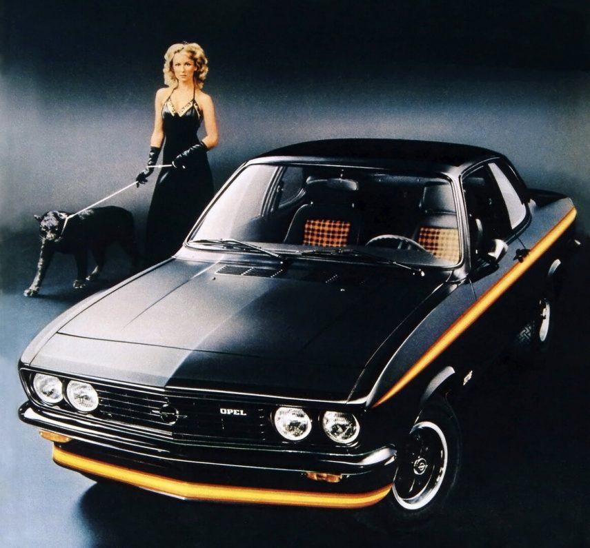 Opel Manta A GT E Black Magic