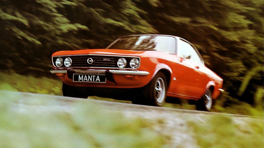 Coche del día: Opel Manta (A)