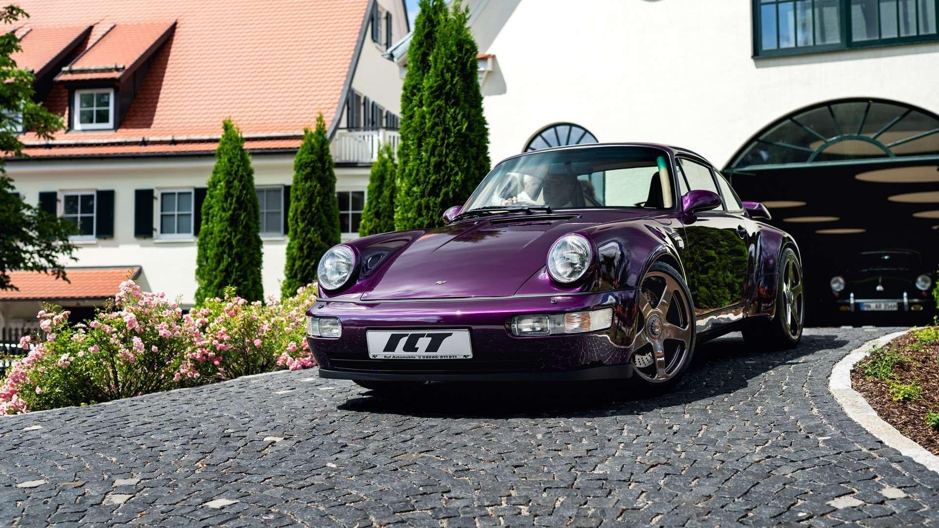 El RUF RCT Evo es, quizá, el Porsche 911 (964) de nuestros sueños