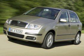 Skoda Fabia hatchback 6Y 2004