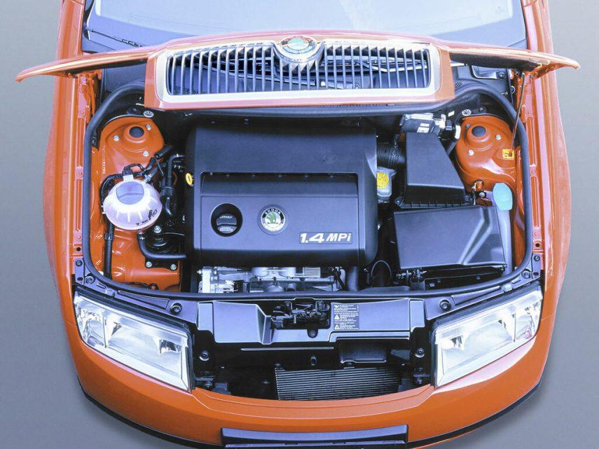Skoda Fabia motor 6Y 1999