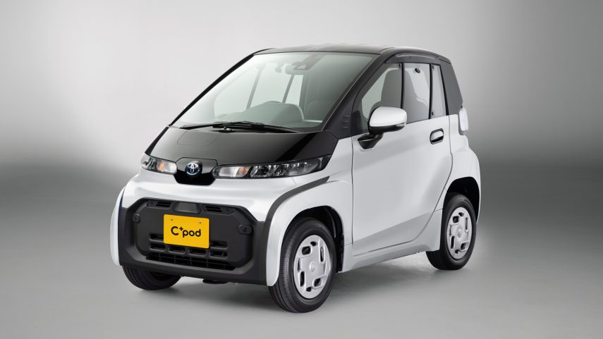 Toyota C+pod, un micro-eléctrico para la jungla urbana
