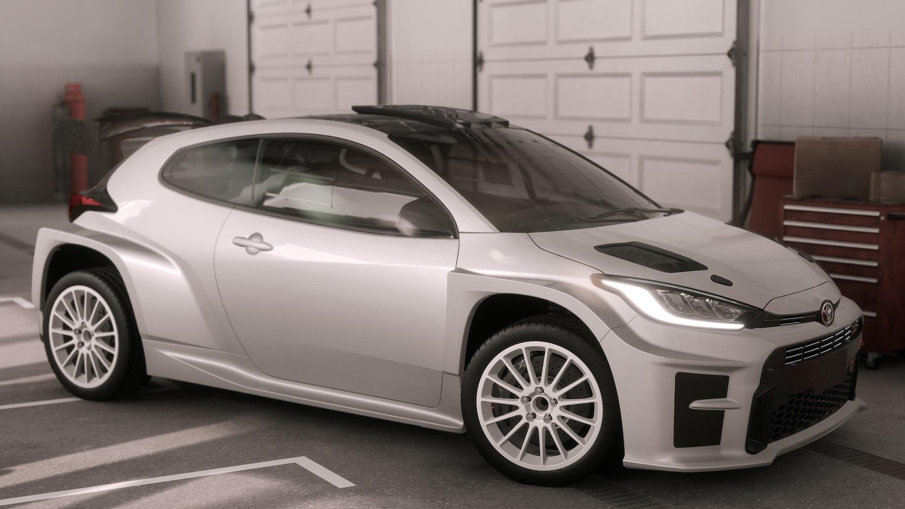 El Toyota GR Yaris AP4 es el coche de rally que debería de haber existido