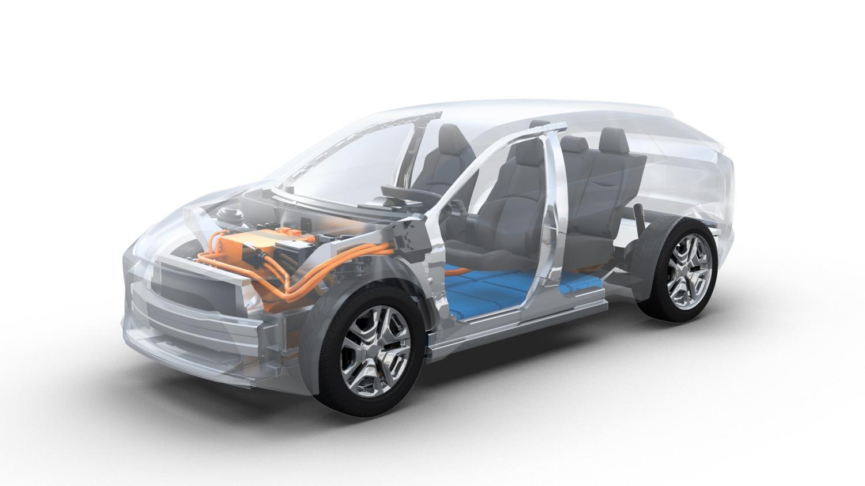 El futuro crossover eléctrico de Toyota adelanta sus formas
