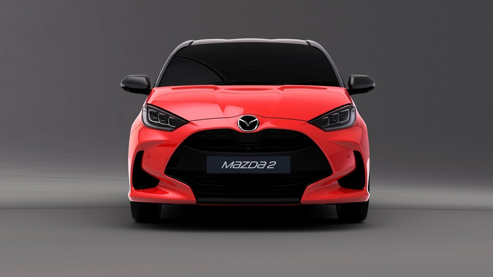 El próximo Mazda2 será un Toyota Yaris remarcado