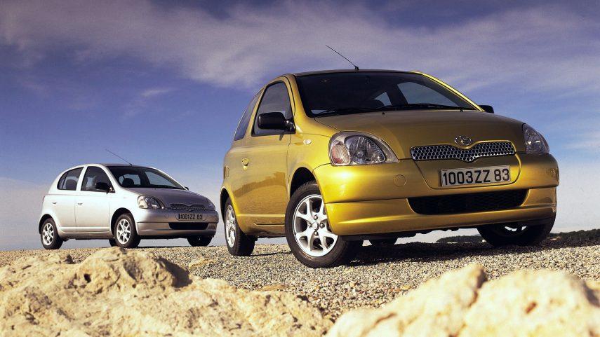 Coche del día: Toyota Yaris 1.0 (XP10)