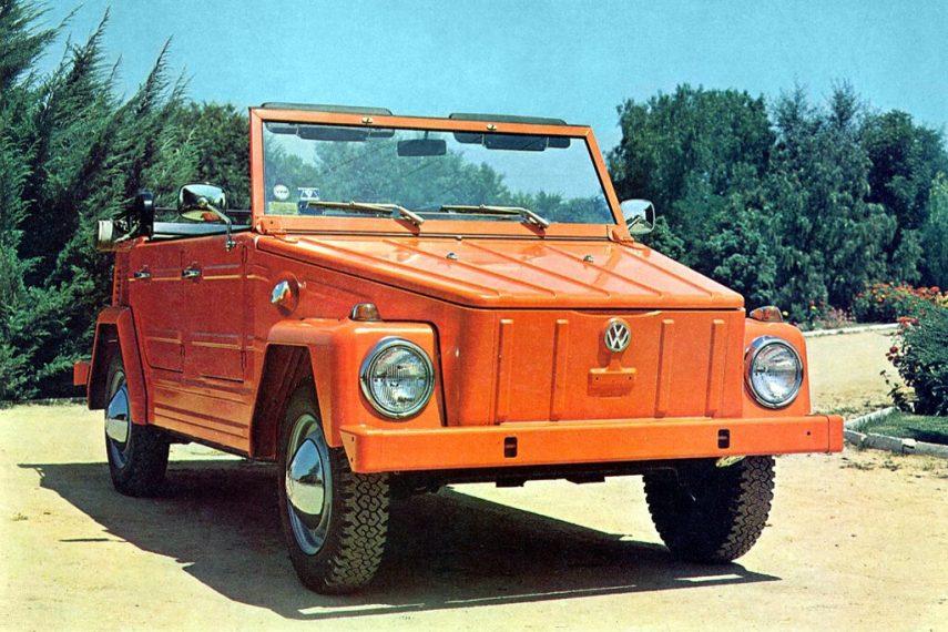 Coche del día: Volkswagen Kurierwagen (Typ 181)