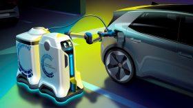 Volkswagen robot de carga móvil coche eléctrico (1)