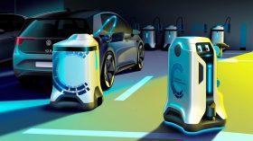 Volkswagen robot de carga móvil coche eléctrico (2)
