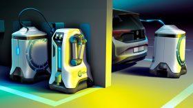 Volkswagen robot de carga móvil coche eléctrico (3)