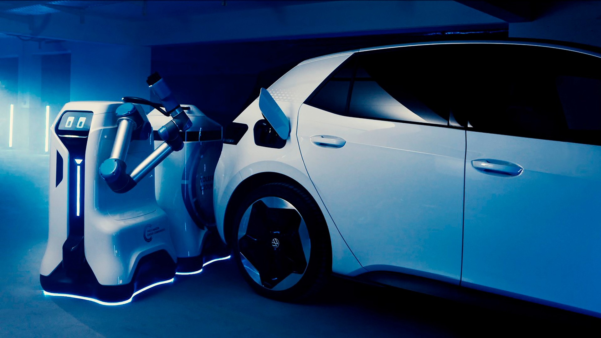 Volkswagen nos presenta a su robot de carga móvil