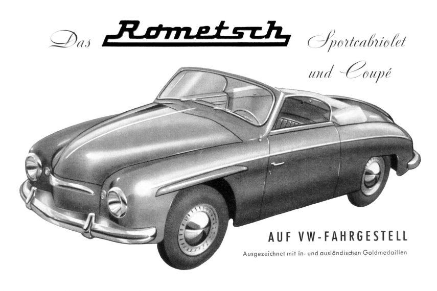 Coche del día: Volkswagen Rometsch
