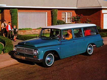 1965 International Harvester D 1000 1100 Travelall