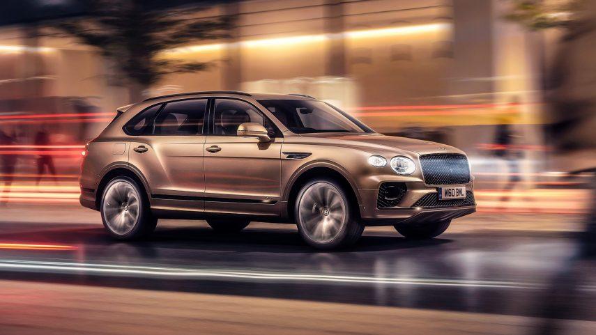 Bentley Bentayga Hybrid 2021, ahora con más autonomía eléctrica
