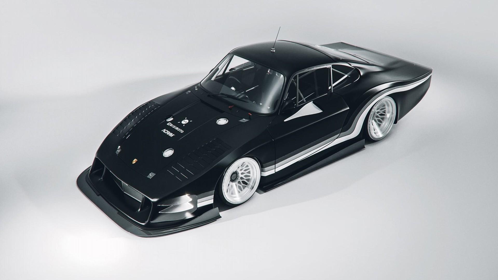 """Bisimoto """"Moby X"""", el Porsche 935 """"longtail"""" que queremos"""