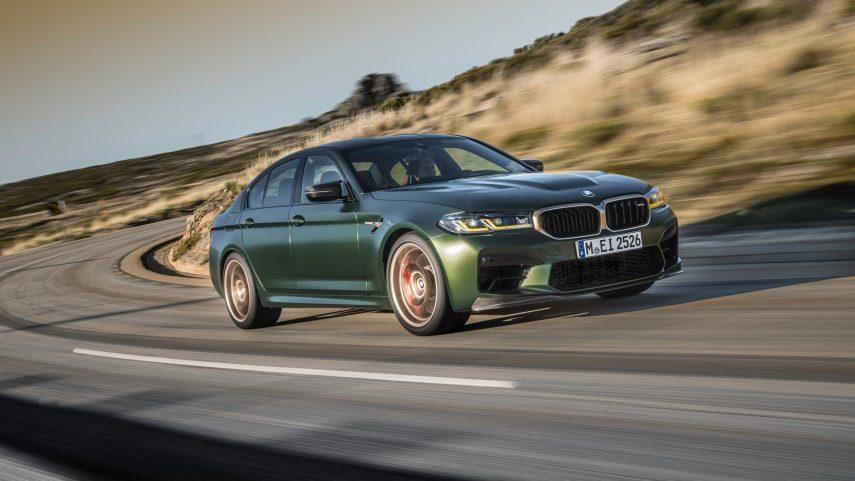 El BMW M5 CS 2022 es el máximo exponente de las berlinas prestacionales