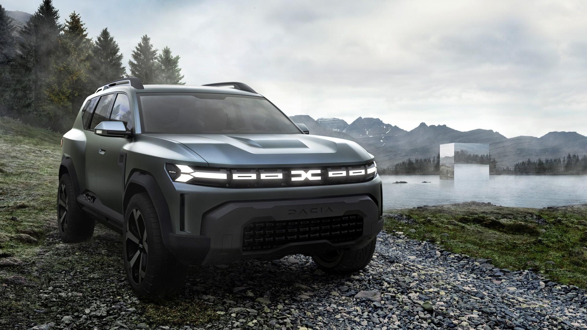 El Dacia Bigster Concept anticipa la próxima incorporación del fabricante rumano