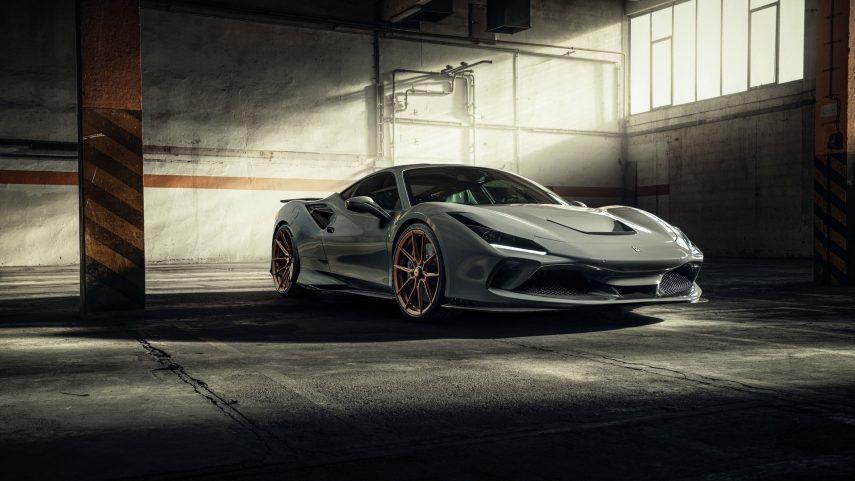El Ferrari F8 Tributo recibe nuevas actualizaciones por parte de Novitec