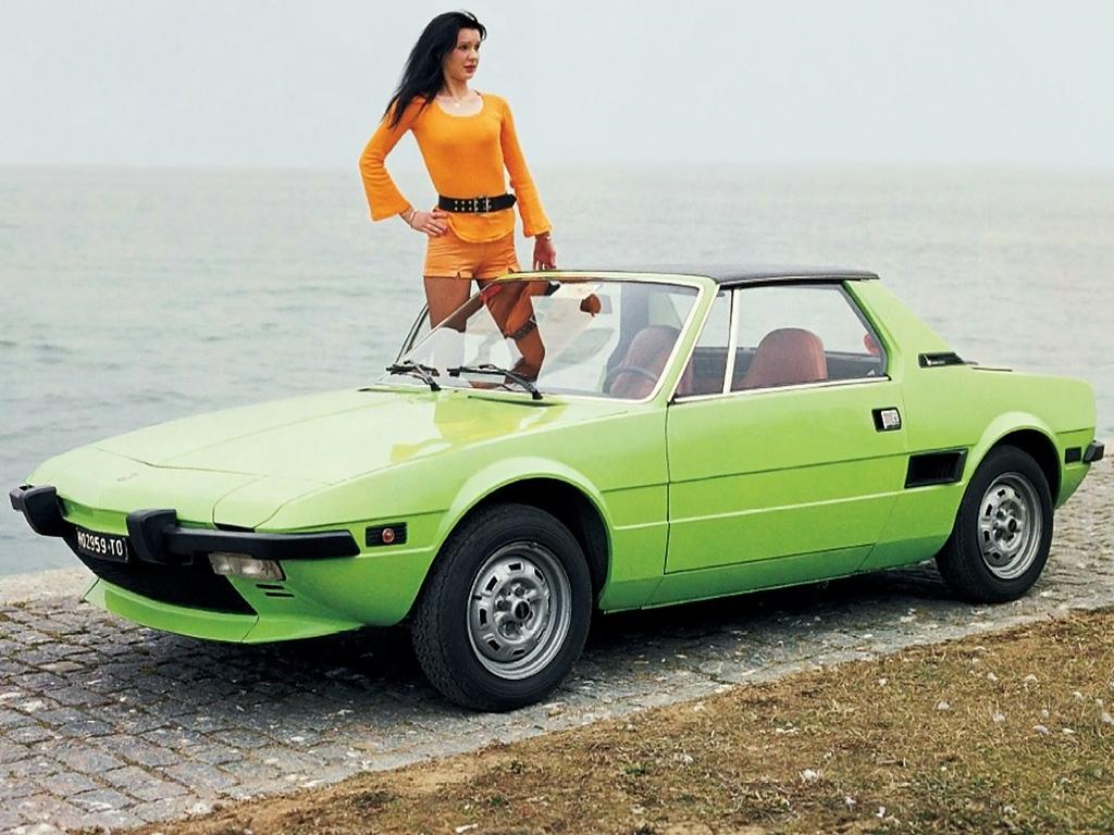 Coche del día: Fiat X1/9 (128)
