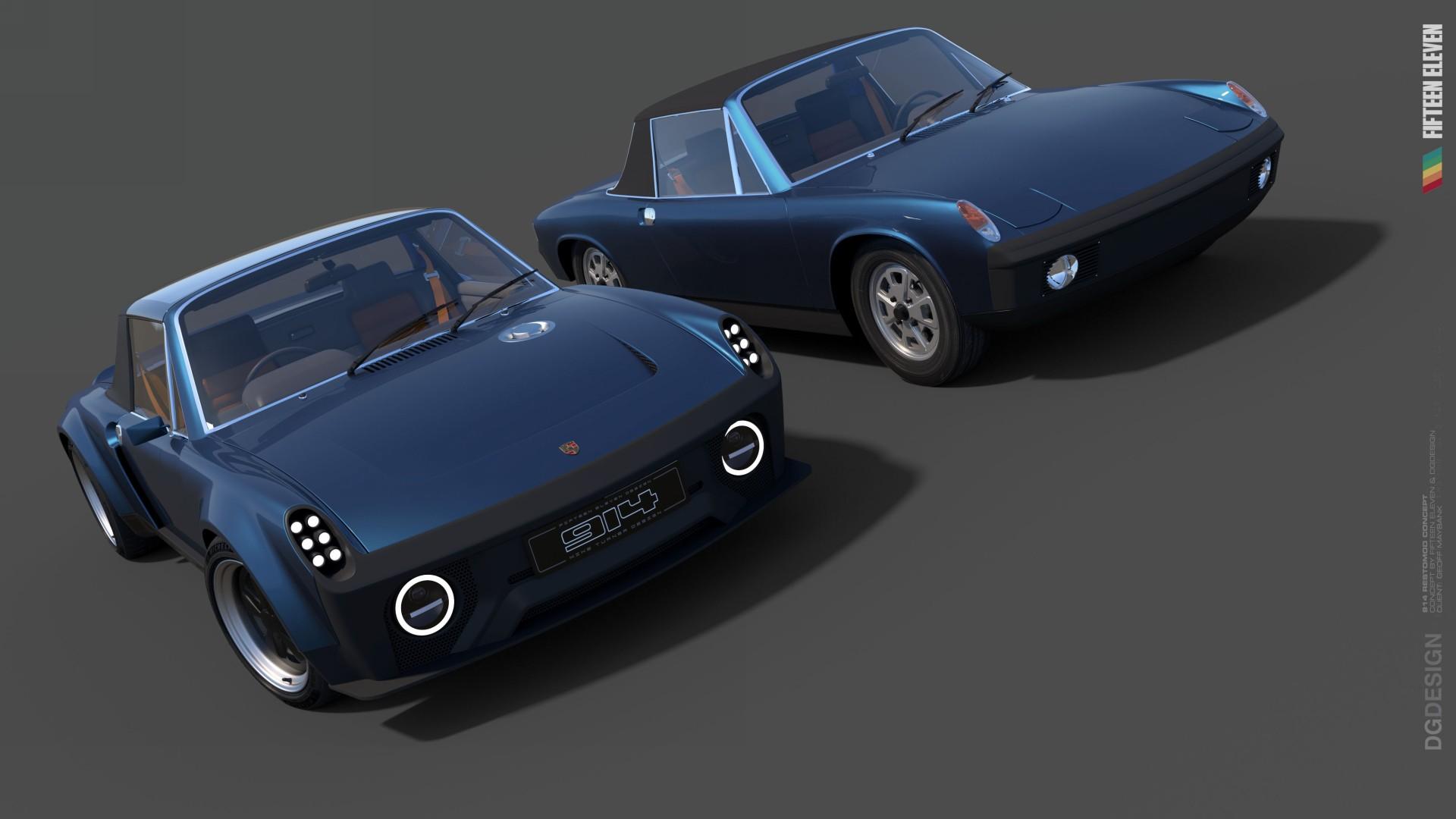 El Porsche 914 de Fifteen Eleven Design será una realidad a finales de 2021
