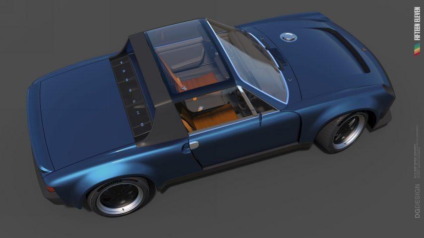 Fifteen Eleven Design Porsche 914 Render (3)