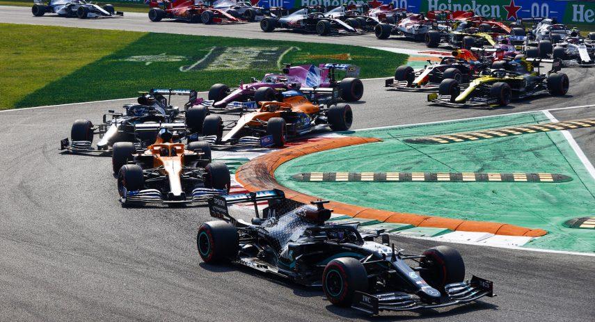 Formula 1 GP Italia 2020 salida